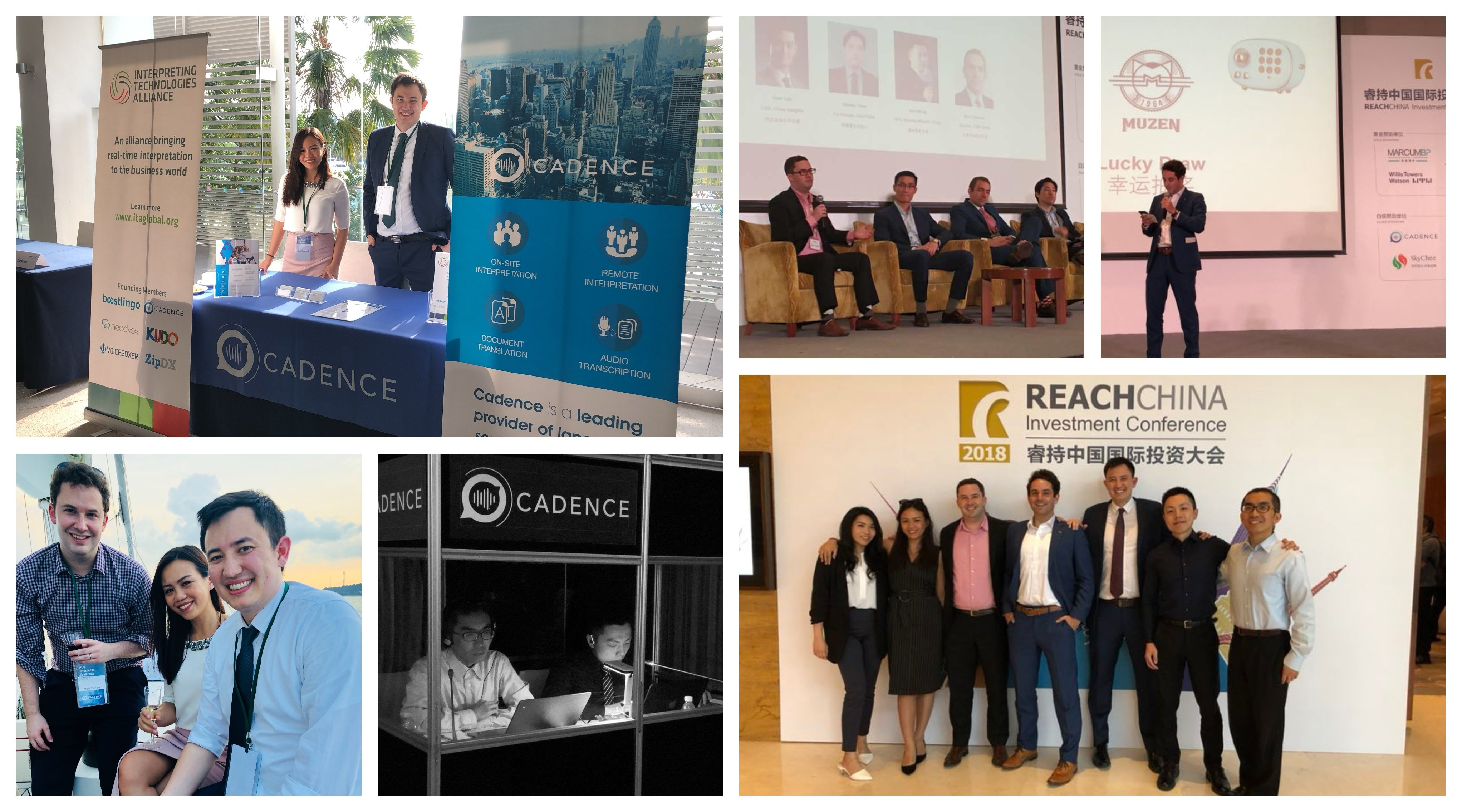 AIC and Reach Collage